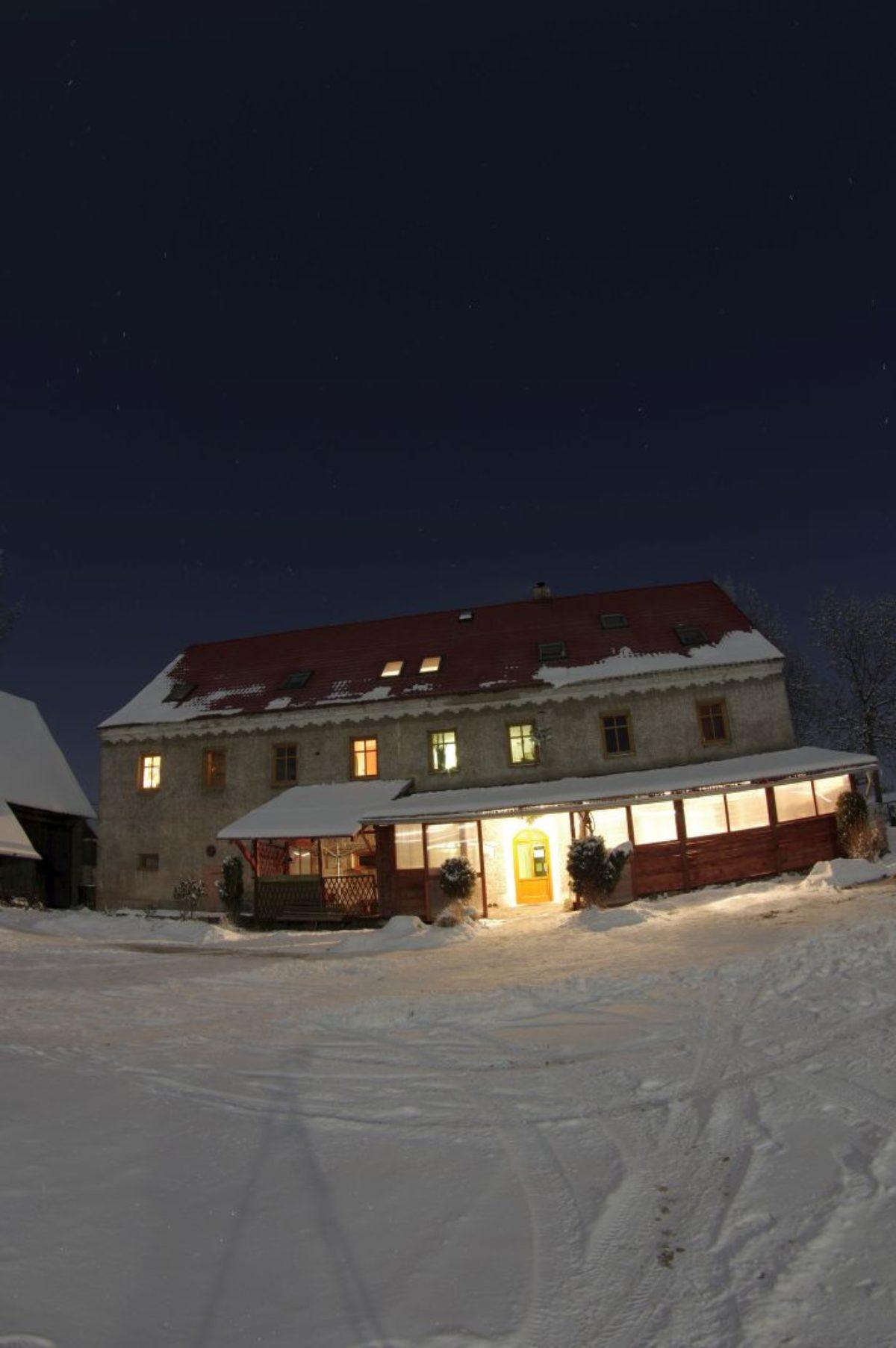 Zima a noc