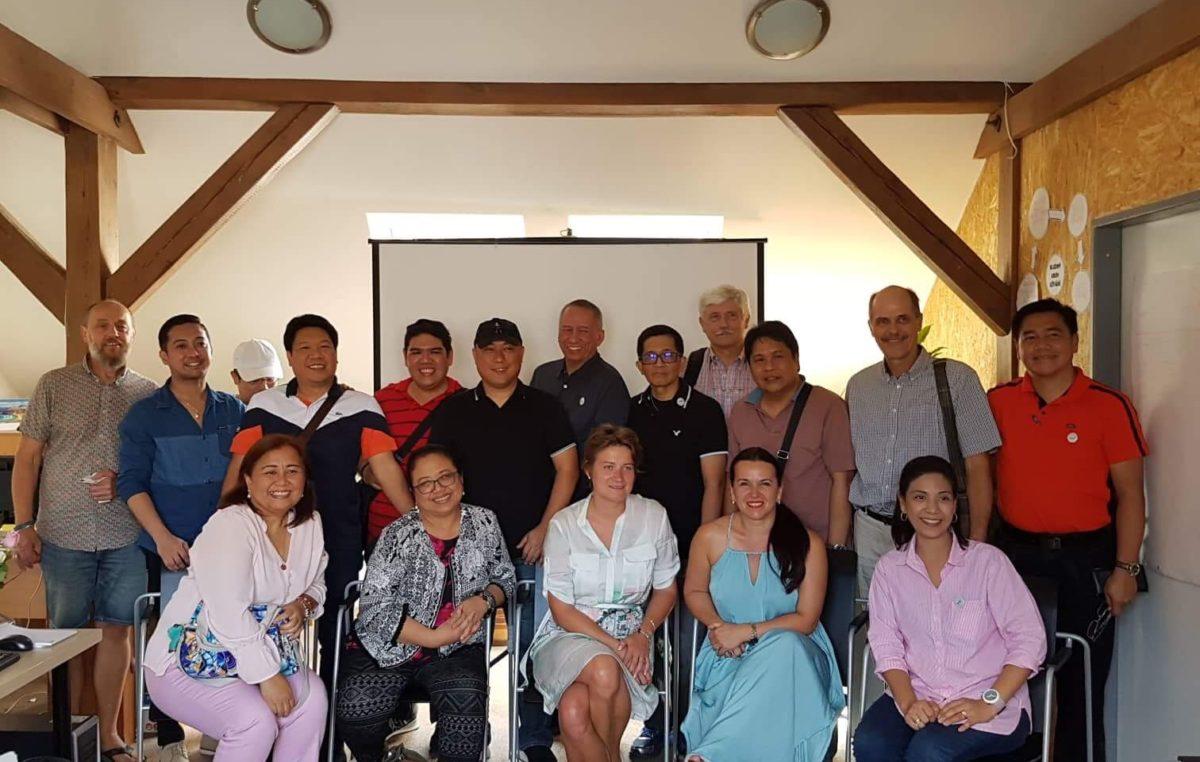 Studijní návštěva z Filipín